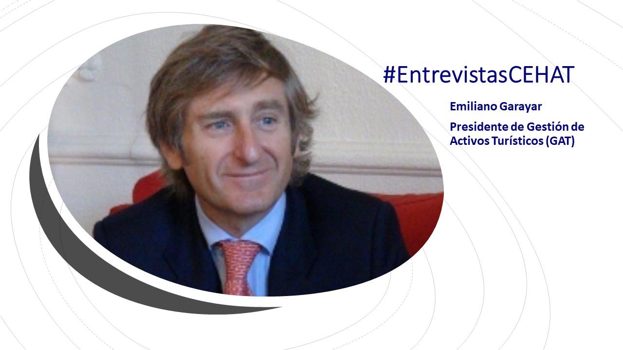 Emiliano Garayar - presidente de Gestión de Activos Turísticos GAT