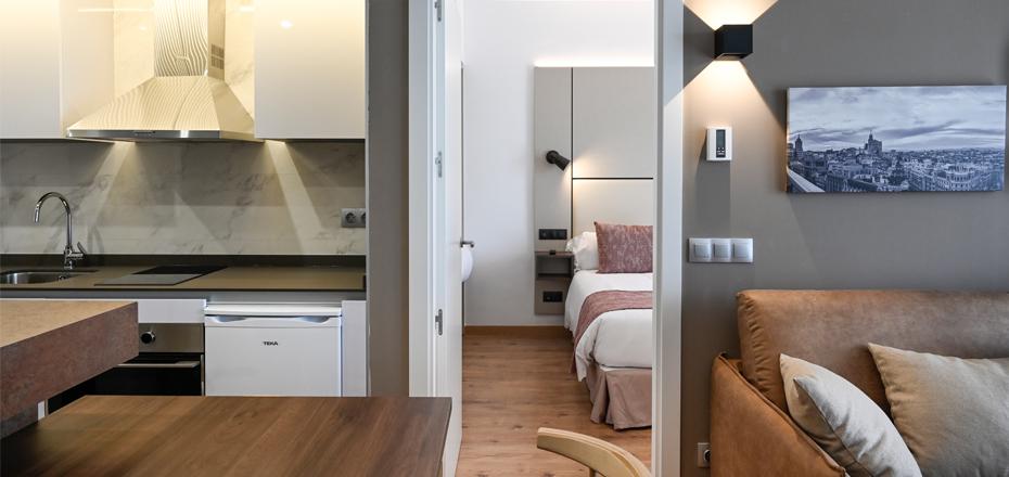 Imagen habitación de apartamentos Eurobuilding2