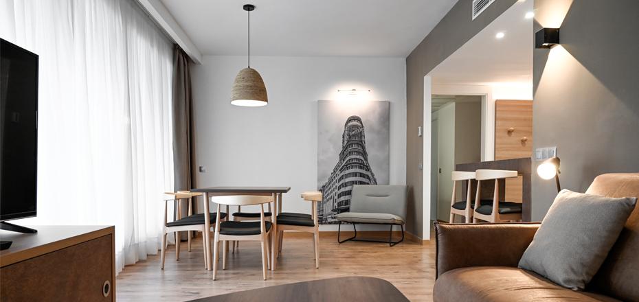 Imagen habitación de apartamentos Eurobuilding2 sala