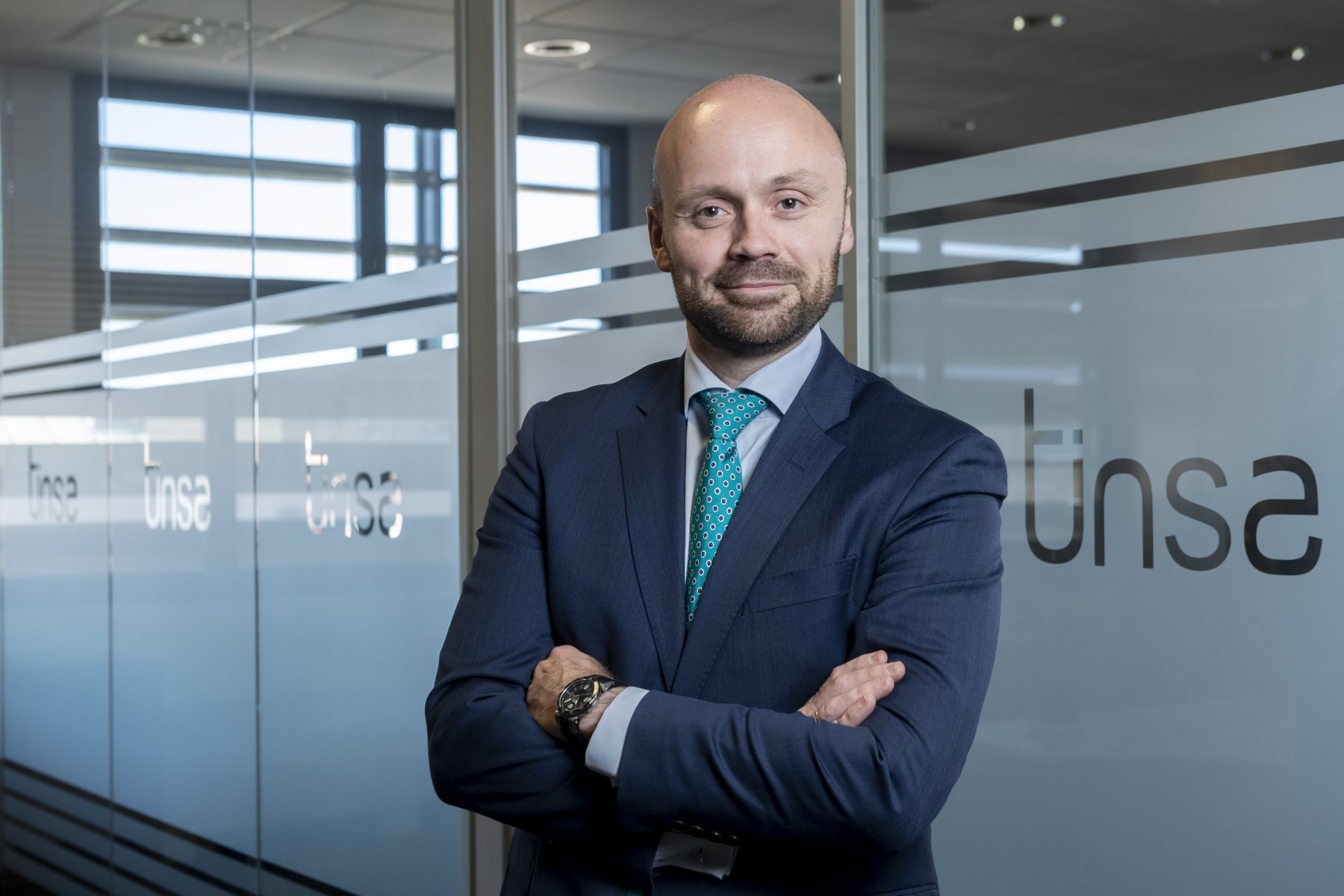 David Paramio, director de la división de hotelera de Tinsa